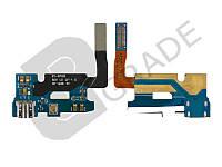Шлейф для Samsung N7100 Galaxy Note 2, с разъемом зарядки, с микрофоном
