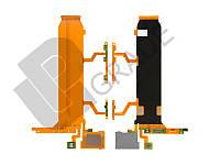 Шлейф для Sony C6802 Xperia Z Ultra XL39h/C6806/C6833, основной, с кнопкой включения, с кнопками регулировки громкости, с микрофоном