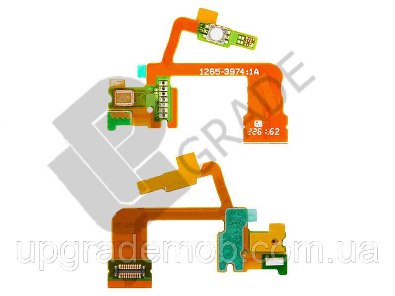 Шлейф Sony C6502 Xperia ZL L35h/C6503/C6506 с кнопкой камеры с микрофоном