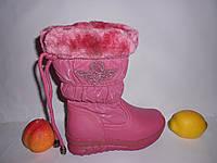 Зимние сапожки для девочки р27,28,29,30 на овчине, нос кожаный ТМ Beesky (Kellaifeng)