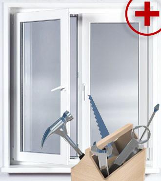 Ремонт и сервисное обслуживание металлопластиковых окон
