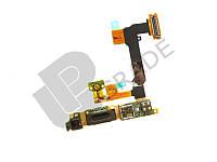 Шлейф для Sony Ericsson U1 Satio-Idou, с кнопкой включения, с динамиком, с разъемом камеры