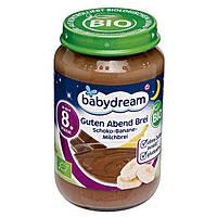 """Babydream Bio Guten Abend Brei """"Kakao-Banane-Milchbrei"""" - Детская молочная каша Шоколад-Банан, с 8 мес., 190 г"""