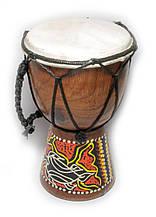 Барабан дерев'яний з розписом