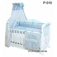 Постельный комплект Twins Premium 8 элементов Glamour P-010