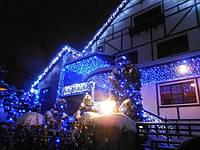 Оформление дома на новый год, оформление ресторана, иллюминация круглый год Киев