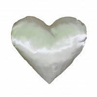 Подушка атласная сердце