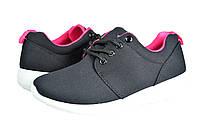 Женские кроссовки из эко кожи inblu sa-1rtч черные   весенние , фото 1