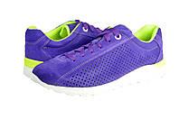 Мужские кроссовки из натуральной кожи mida 3354фиолет фиолетовые  летние , фото 1