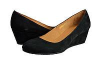 Женские туфли повседневные kolari 1207 черные   весенние