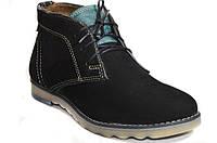 Мужские ботинки (арт.Роки (черный нуб)), фото 1