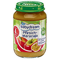 Babydream Bio Pfirsich-Maracuja - Фруктовое пюре Персик - Маракуйя, с 4 месяца, 190 г