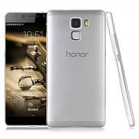 Силиконовый чехол 0,33 мм для Huawei Honor 7 прозрачный