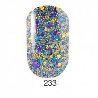 Гель-лак для ногтей Naomi  Brilliant Collection №233