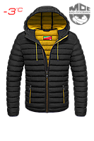 Черная куртка короткая зима