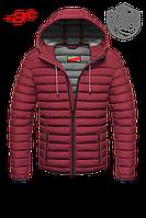 Красная куртка мужская осень-зима -3