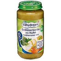 Babydream Bio Menü Gemüserisotto mit Huhn mediterraner Art - Овощное ризотто с курицей, с 12 месяца, 250 г