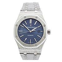 Часы Audemars Piguet Royal Oak Selfwinding silver/blue. Класс: AAA