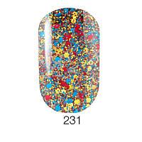 Гель-лак для ногтей Naomi  Brilliant Collection №231