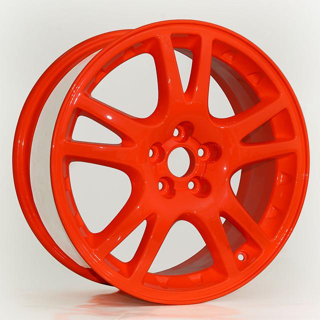 Покраска дисков порошковой краской. Полимерное покрытие