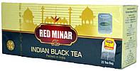 """Чай черный индийский """"MeriChai"""" """"Ред Мінер"""" 25пак 50г."""
