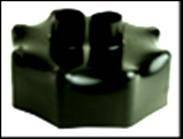 Термоусадочный колпачок для предизолированных труб