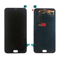 Модуль (Дисплей + сенсор) Meizu MX5  with touchscreen black s/k