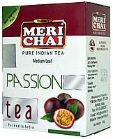 """Чай черный индийский """"MeriChai"""" 100г """"Страсть"""" (+ложка)"""