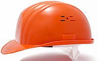 Каска строительная оранжевая пластик VITA