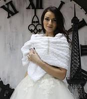 """Накидка для невесты """"Розочки  белые"""""""