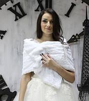 """Накидка для невесты """"Розочки  белые"""", фото 2"""