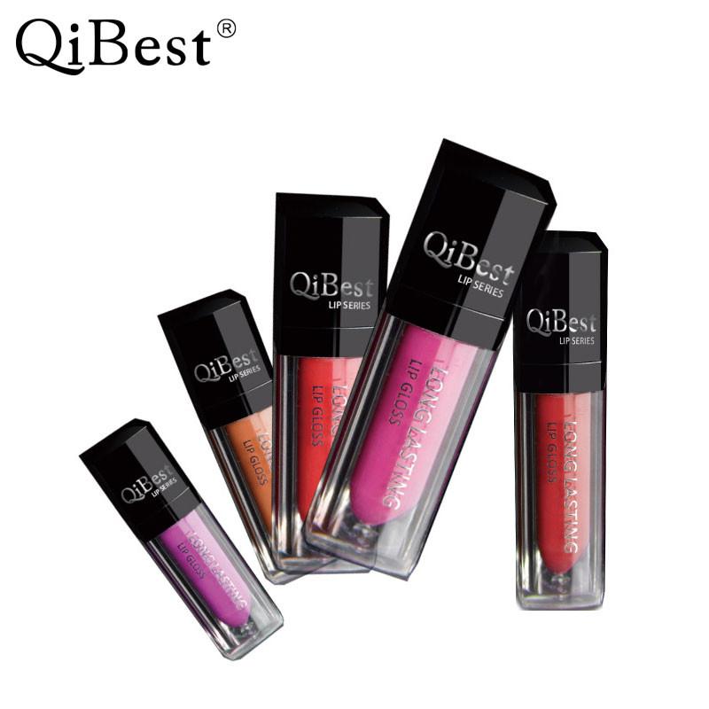 Матовая помада для губ водостойкая QiBest