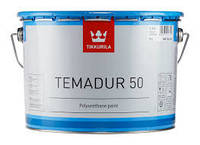 Полиуретановая краска Тиккурила Темадур 50 TСL,  7.5л+1.5