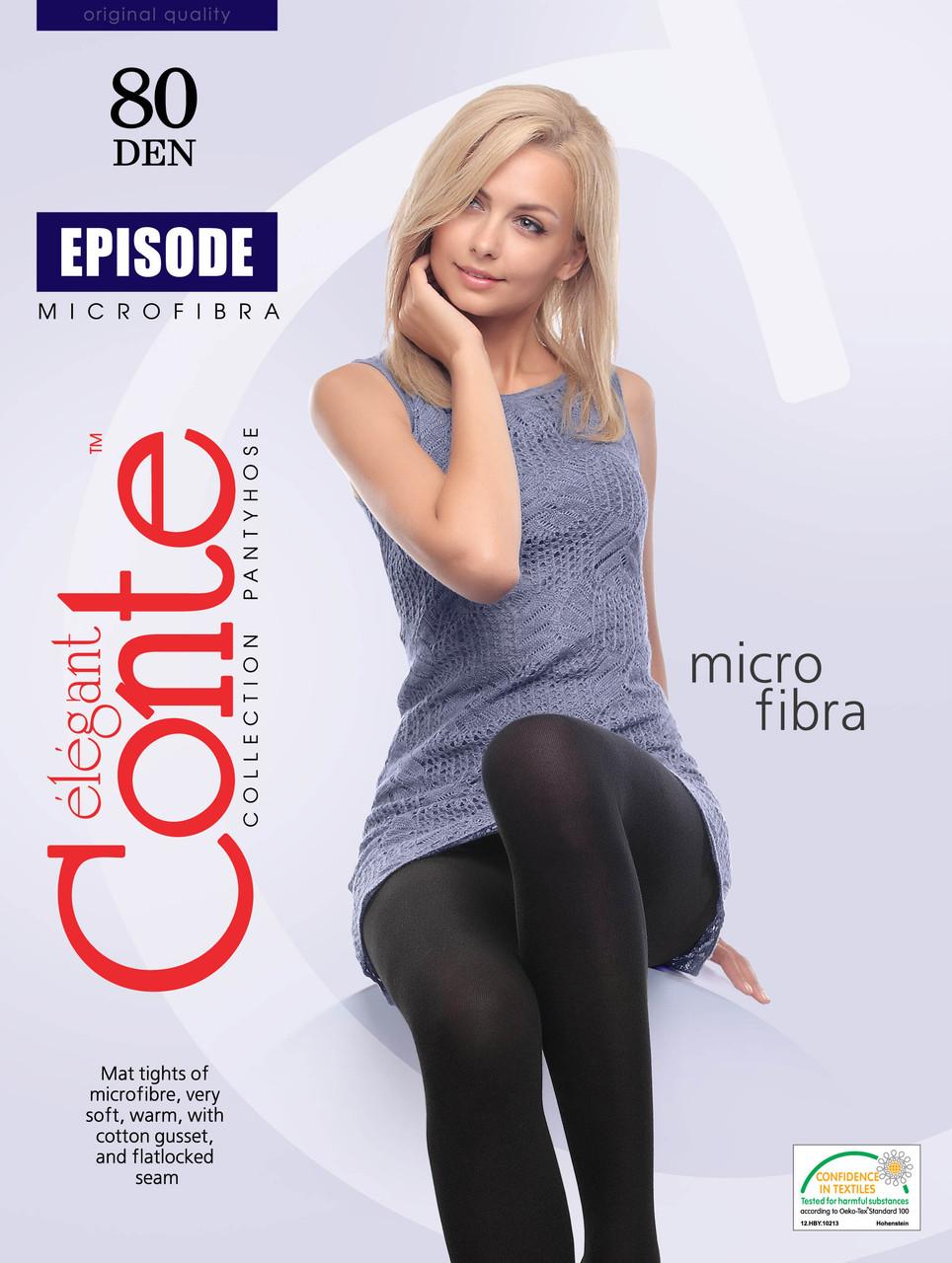 Колготки жіночі Conte Episode 80 Den (Конте Епізод 80 ден), розмір 5, 6 Білорусія