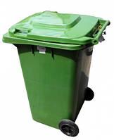 Бак для мусора пластиковый 120 л