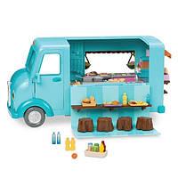Lil Woodzeez Игровой набор Закусочная на колесах машинка 88 аксессуаров