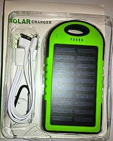 Solar Charger Power Bank 10400 mAh + LED фонарь