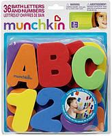 "Аква буквы Munchkin ""Буквы англ. и цифры"""