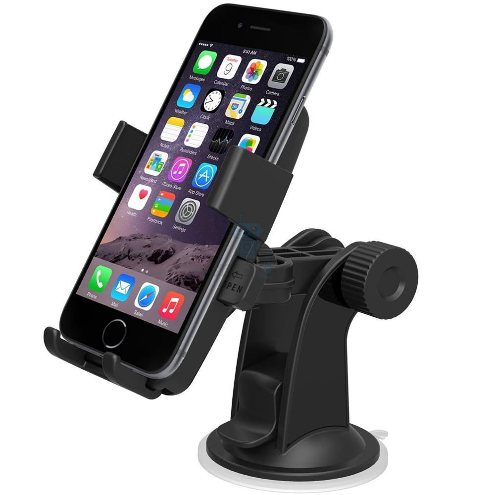 Автодержатель на короткой ножке iOttie Easy One Touch для телефонов с