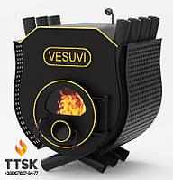 Печь на дровах «VESUVI» с варочной поверхностью «00» со стеклом и перфорацией
