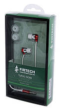 Наушники Firtech FE-062 красные