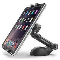 Автодержатель с телескопической ножкой, iOttie Easy Smart Tap 2 Universal Car Desk Mount с шириной экрана от 114 до 190 мм - черный (HLCRIO141)