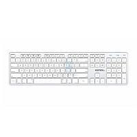 Беспроводная клавиатура с возможностью переключения между 4-мя устройствами, Kanex MultiSync Mac Keyboard (QWERTYX-V2)