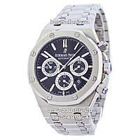 Часы Audemars Piguet ROYAL OAK Silver-Black. Класс: AAA