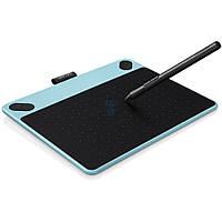 Графический планшет Wacom, серия - Intuos Comic, размер - S, цвет - ментоловый (перо и мультитач) (CTH-490CB-N)
