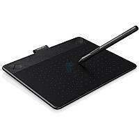 Графический планшет Wacom, серия - Intuos Comic, размер - S, цвет - черный (перо и мультитач) (CTH-490CK-N)