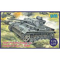 Танк Pz Kpfw III Ausf L 1/72 UM 272