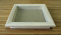 Рамка для 3D 25х25 см (липа скругленный 30 мм), фото 1