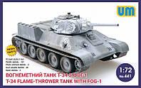 Танк Т-34 с ФОГ-1 1.72 UM 441