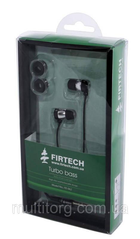 Наушники Firtech FE-062 черные